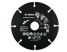 Tarcza widiowa 125mm Carbide Multi Wheel BOSCH